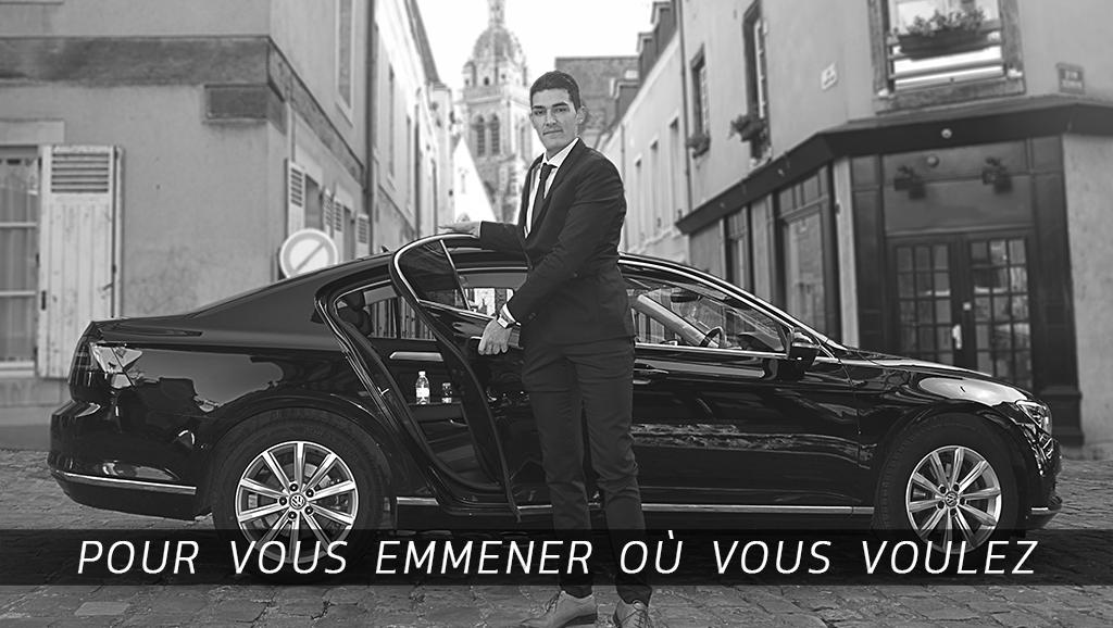 Assimilable à Uber ou taxi privé du Mans